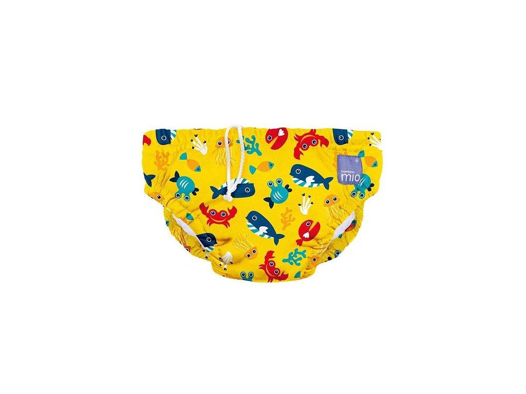 Bambino Mio koupací kalhotky L 9-12kg Deep sea Yellow