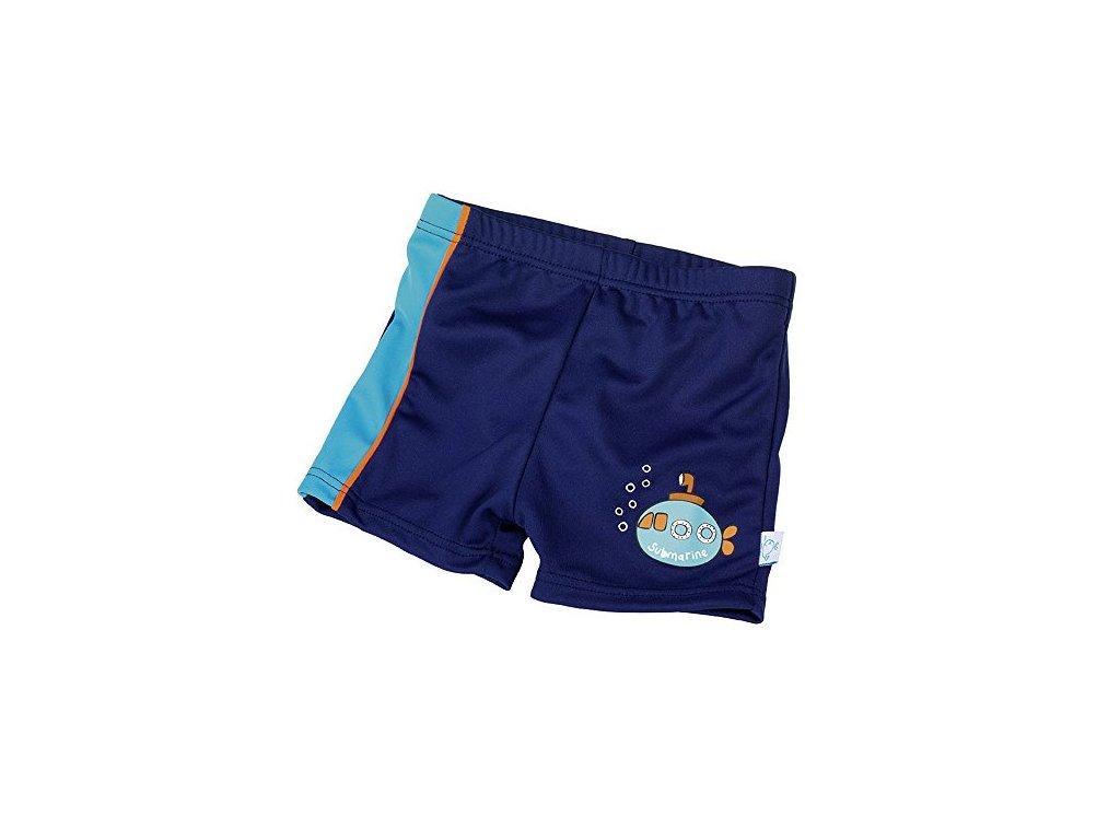 Fashy kojenecké plavky s nohavičkou 74-80 modré 15540 54 M