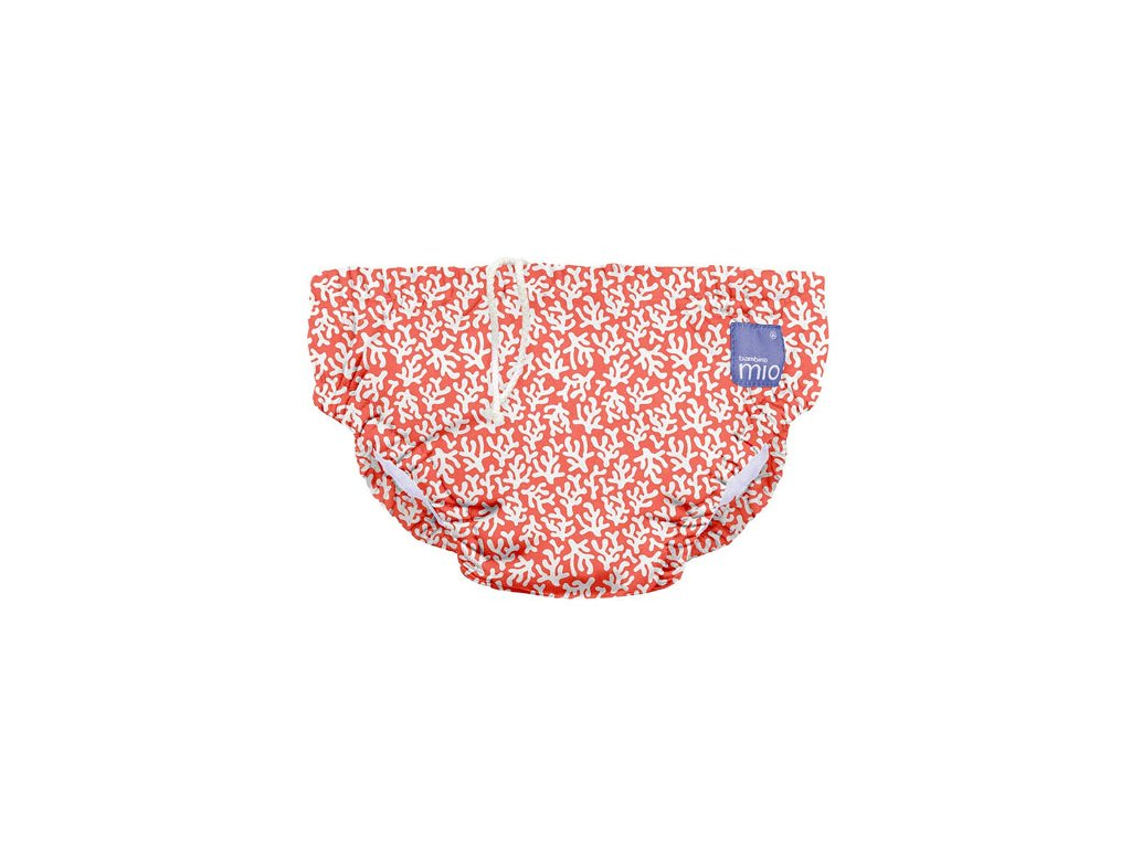 Bambino Mio koupací kalhotky L 9-12kg Coral Reef