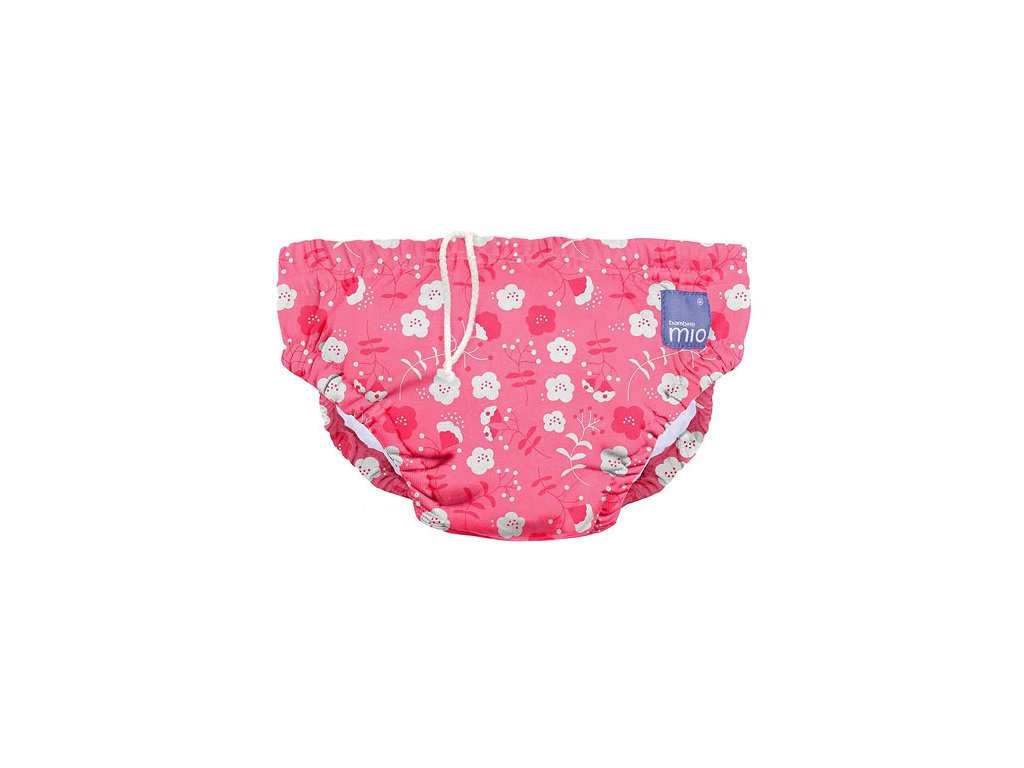 Bambino Mio koupací kalhotky L 9-12kg Poppy