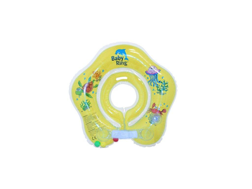 Baby Ring 0-24 m 3-15 kg žlutý