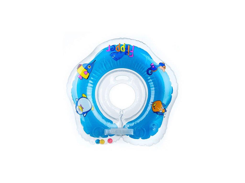 Flipper plavací nákrčník modrá 0+