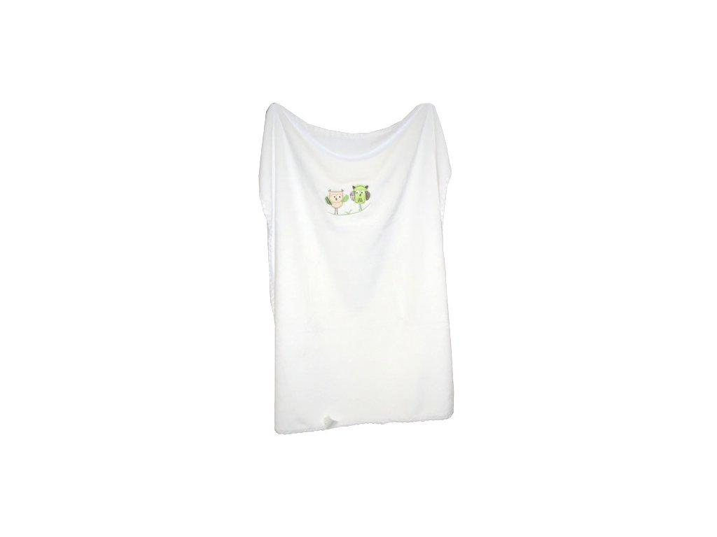 La Vida deka velur s vyšívkou 80x90 cm bílá 2375.00