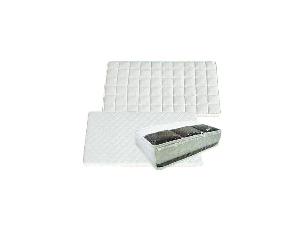 Danpol matrace do postýlky 120 x 60 x 9 cm kokos pohanka bílá