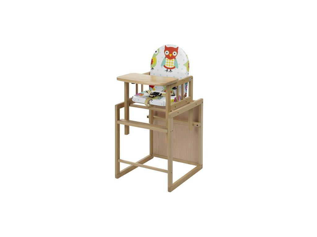 Geuther Nico dětská židle přírodní folie 31