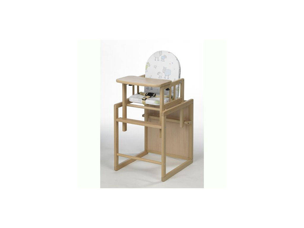 Geuther jídelní židlička Nico přírodní folie 35