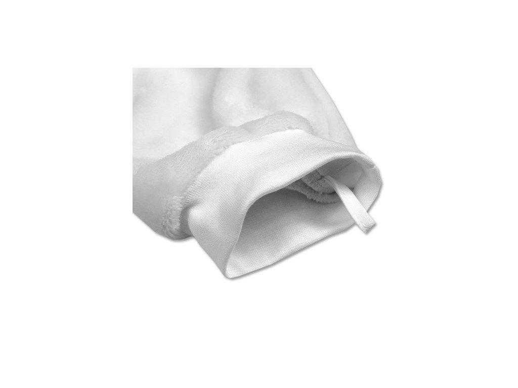 Babyrenka dětská žínka Polar 16x27 cm velká šedá