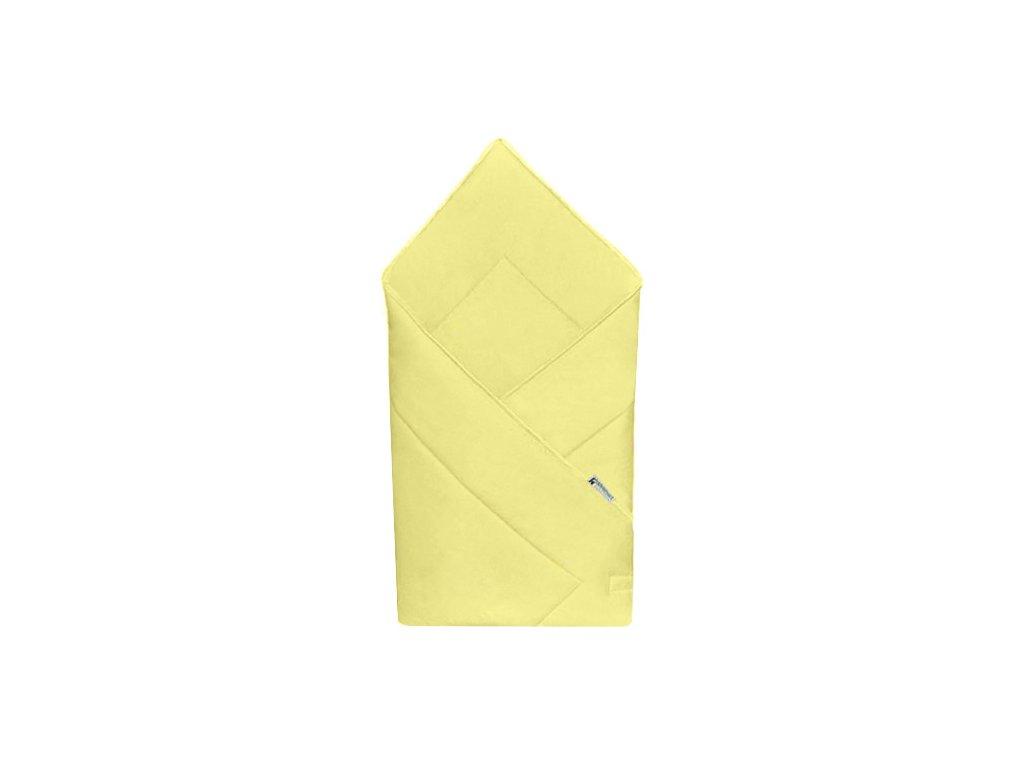 Babyrenka zavinovačka 80x80 Uni yellow