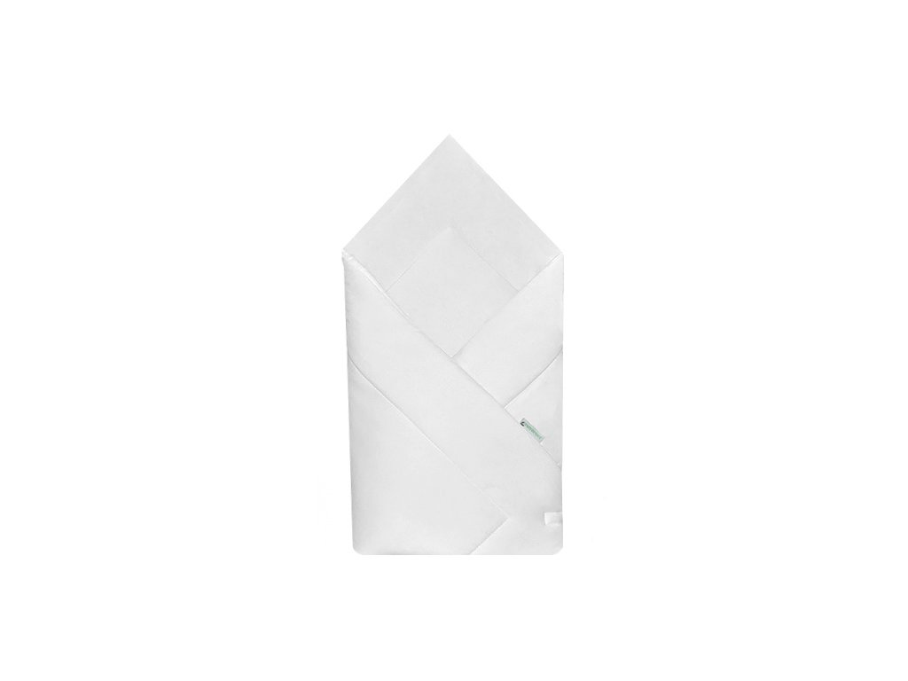 Babyrenka zavinovačka 80x80 Simple bílá