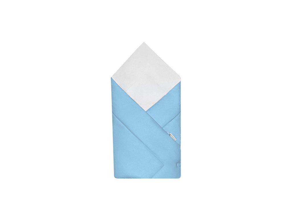 Babyrenka zavinovačka 80x80 Simple sky blue