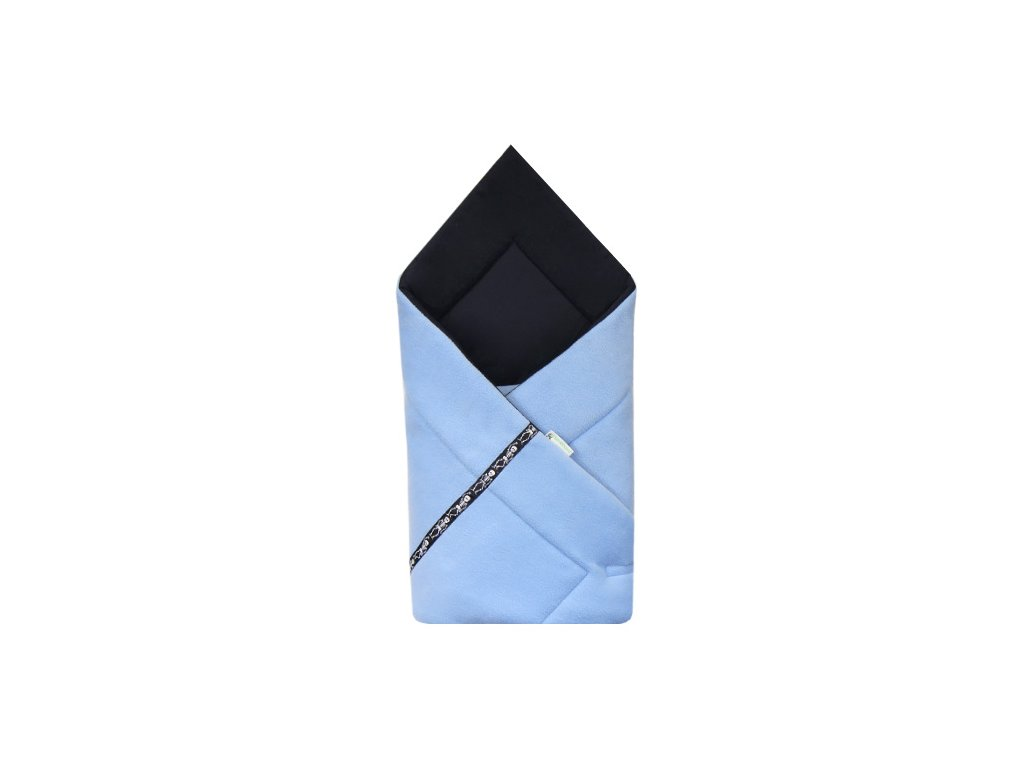 Babyrenka Zavinovačka fleece Soft 80x80 cm Piráti blue