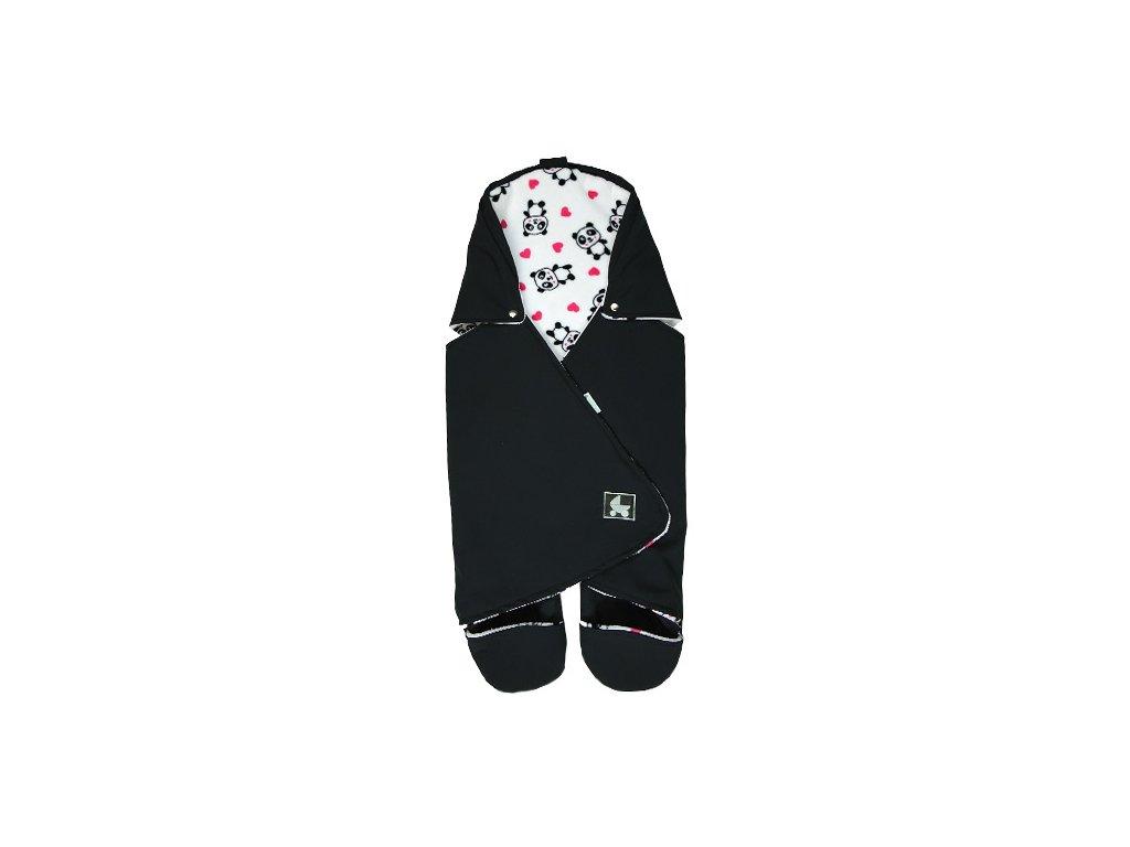 Babyrenka Zavinovačka do autosedačky Softshell P Panda