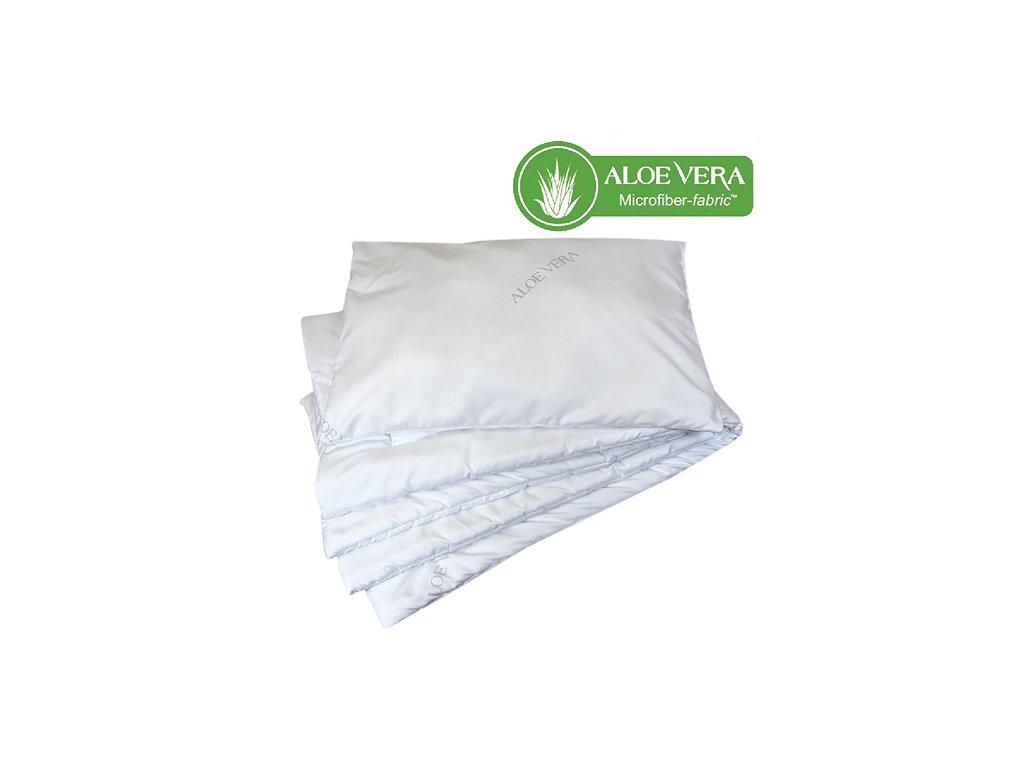 Babyrenka souprava deka a polštář  40x60, 100x135 cm Aloe Vera EU 200 gr
