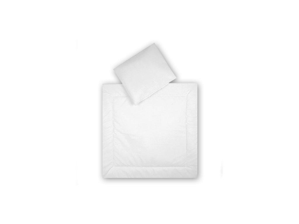 Babyrenka Souprava deka a polštář do kolébky 90x90 a 30x40
