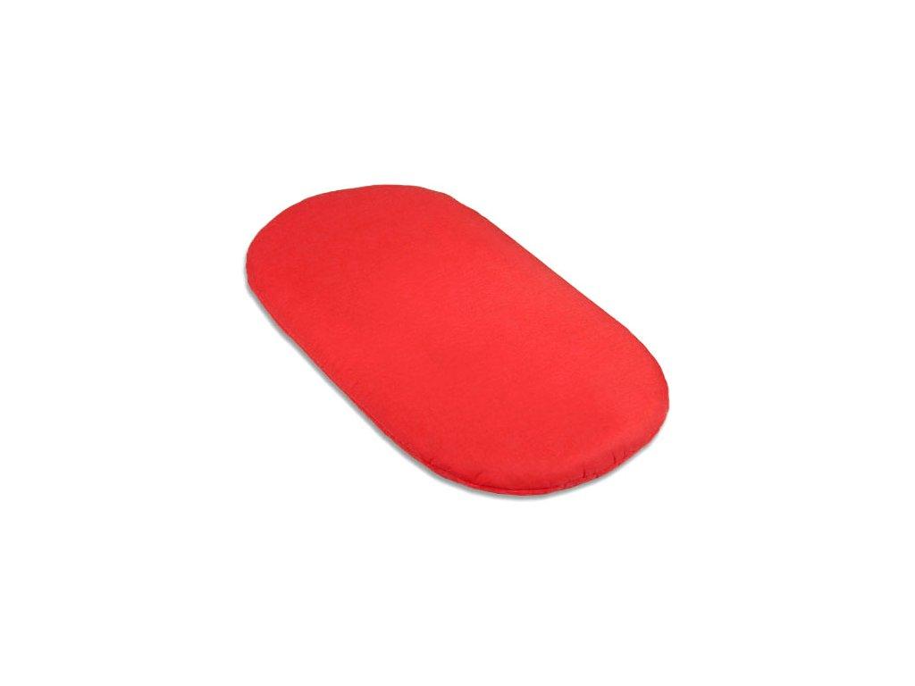 Babyrenka prostěradlo do kočárku Lisa 40x80 cm Red