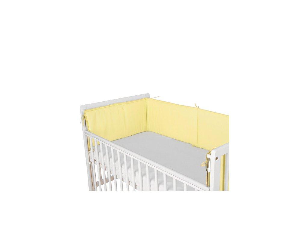 Babyrenka ochranný límec do postýlky 240 cm Uni yellow