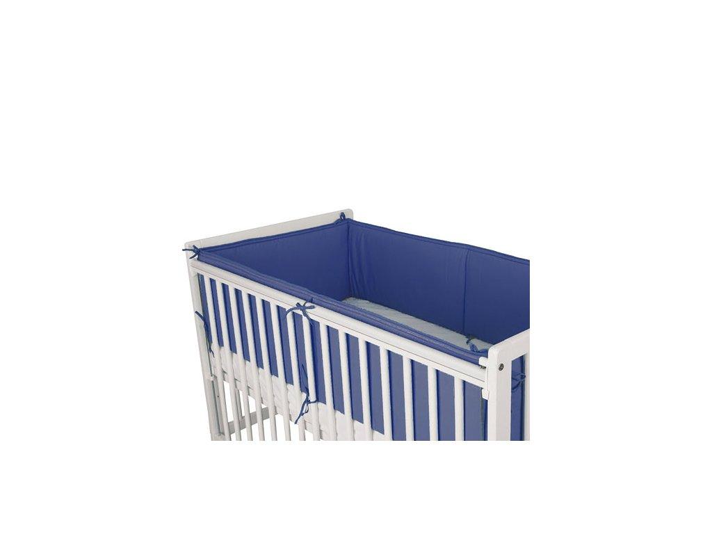 Babyrenka ochranný límec do postýlky 360 cm Uni dark blue