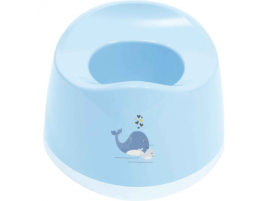 Bébé Jou nočník oválný Wally Whale