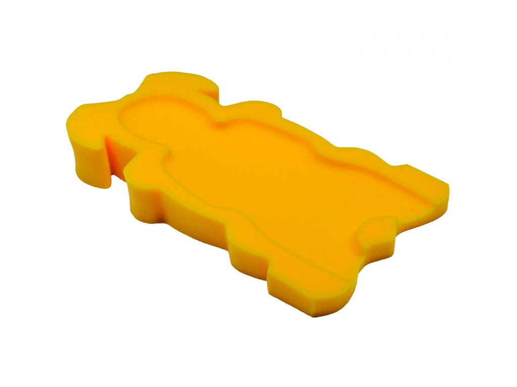 Badum molitanové lehátko do vaničky Maxi žluté
