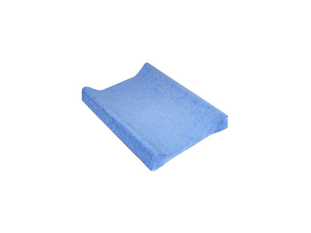 TyiMy povlak na podložku froté modrý 80x50 cm