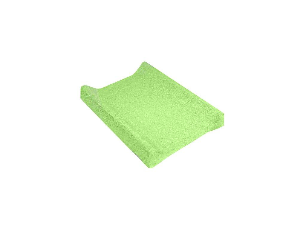 TyiMy povlak na podložku froté zelený 80x50 cm