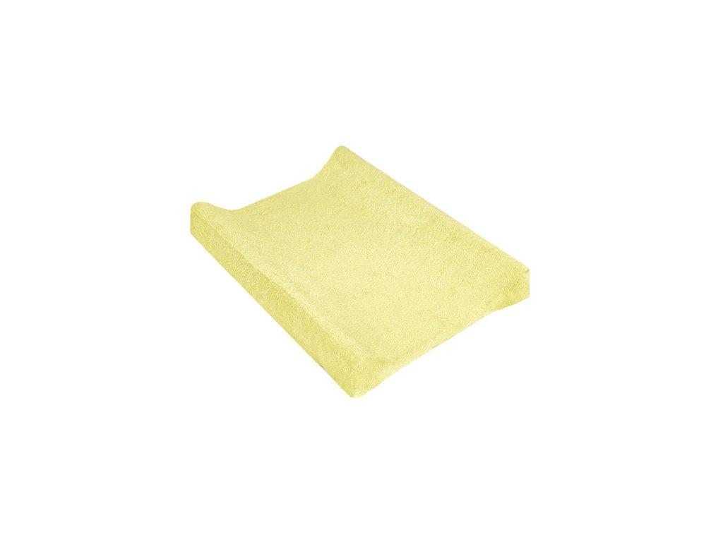 TyiMy povlak na podložku froté žlutý 80x50 cm