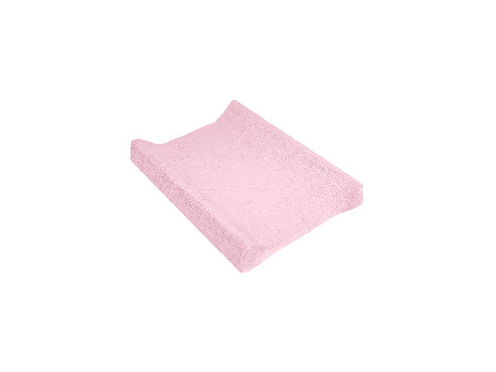 TyiMy povlak na podložku froté růžový 80x50 cm
