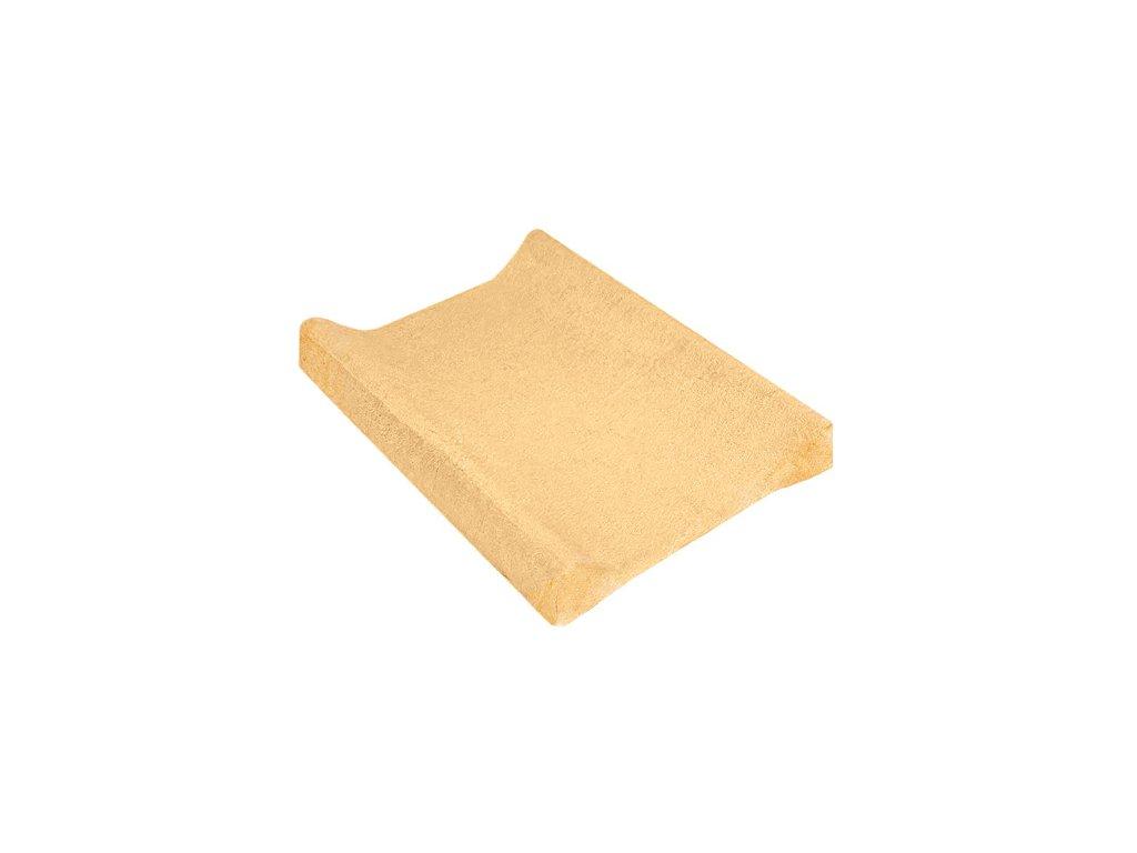 TyiMy povlak na podložku froté meruňkový 80x50 cm