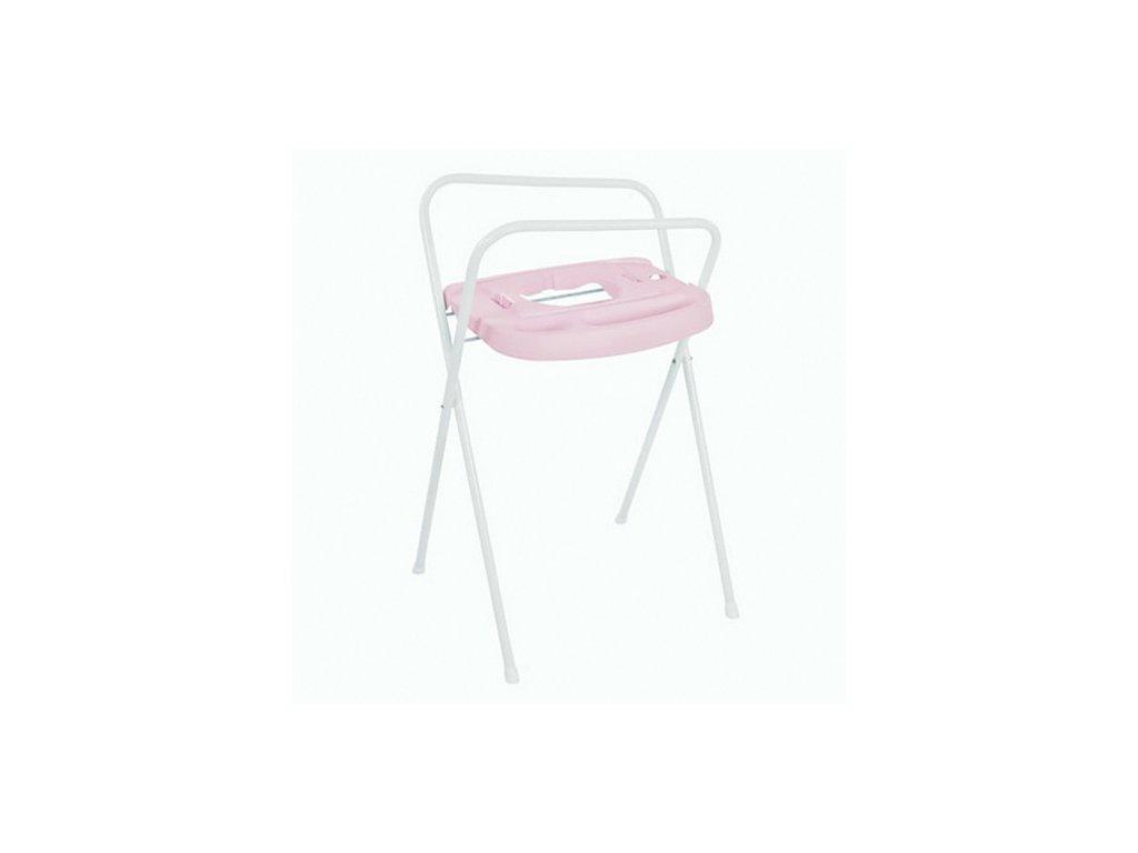 Bébé Jou kovový stojan na vanu Click 103 cm světle růžový B220505