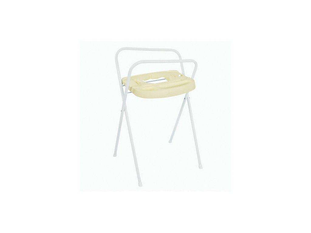 Bébé Jou kovový stojan na vanu Click 103 cm krémově žlutý B220519