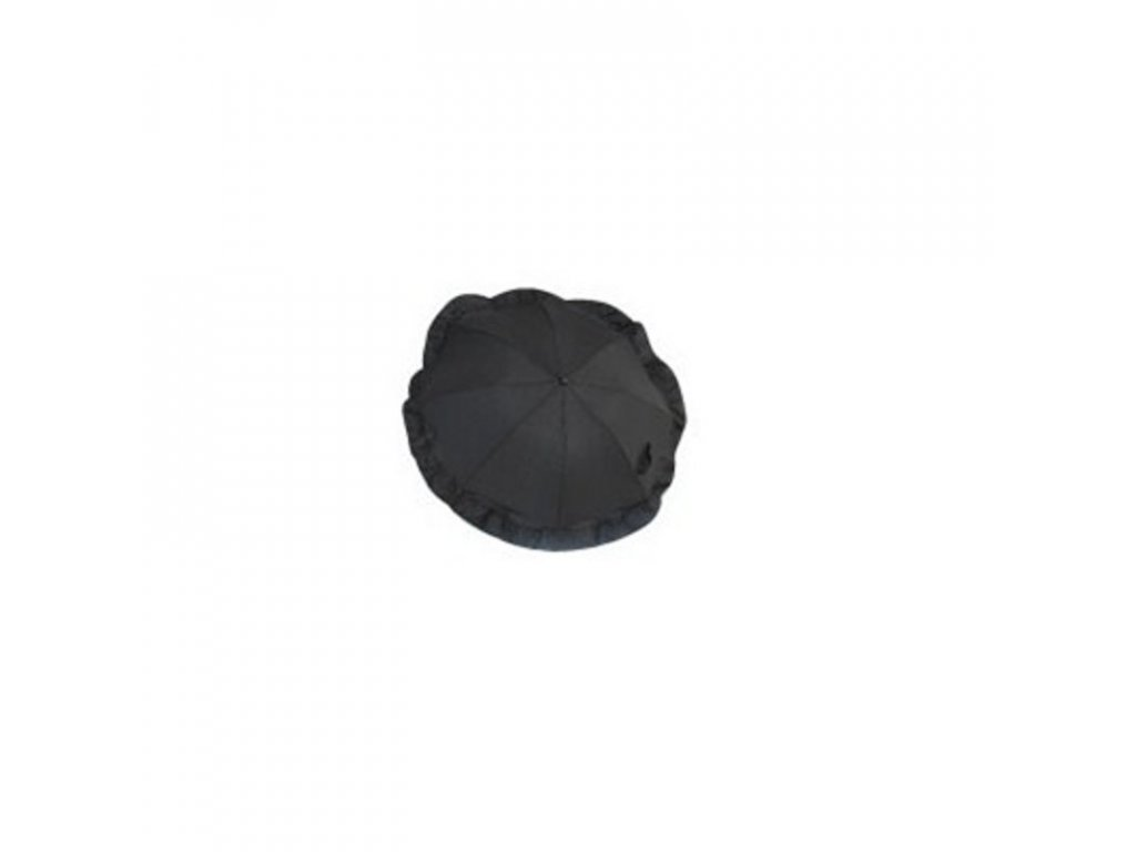 Clipasol slunečník ke kočárku s klipem 62 cm černý