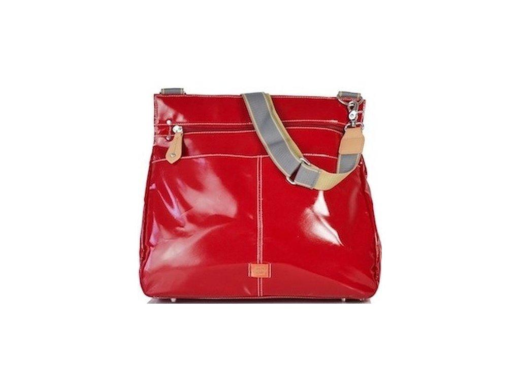Paca Pod přebalovací taška 3 v 1 Oban červená