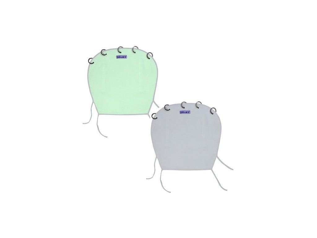 Dooky sluneční clona Reversible Mint Grey