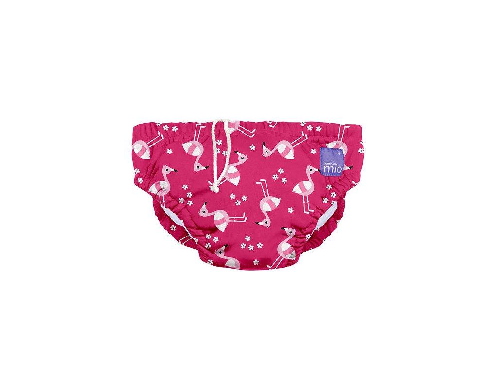 bambino mio plavky pink flamingo
