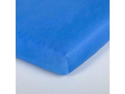 Träumeland prostěradlo 60-70x130-140 cm Tencel blau