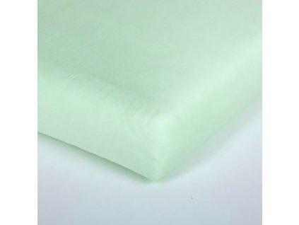 Träumeland prostěradlo 60-70x130-140 cm Tencel grün