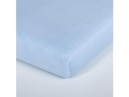 Träumeland prostěradlo 60-70x130-140 cm Tencel  hellblau