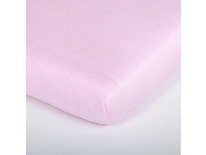 Träumeland prostěradlo 60-70x130-140 cm Tencel rosa