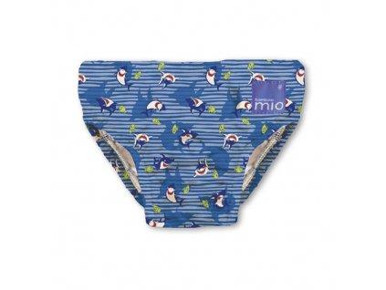 Bambino Mio koupací kalhotky XL 12-15 kg Blue Shark