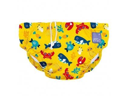 Bambino Mio koupací kalhotky M 7-9kg Deep Sea Yellow SWPM DSY 18063