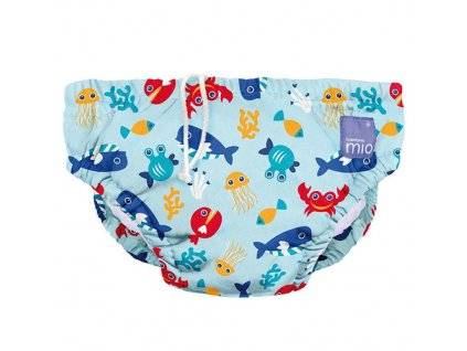 Bambino Mio koupací kalhotky L 9-12kg Deep sea Blue
