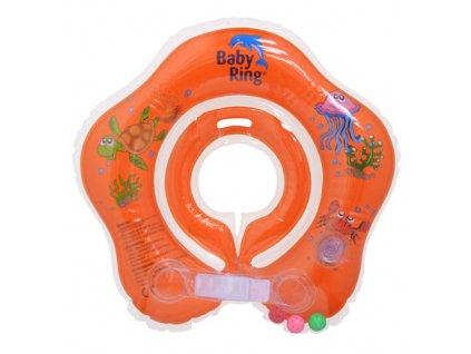 Baby Ring 0-24 m 3-15 kg oranžový