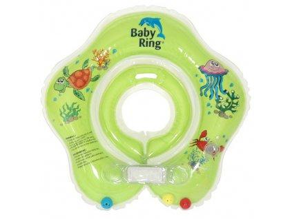 Baby Ring 0-24 m 3-15 kg zelený 6510.107