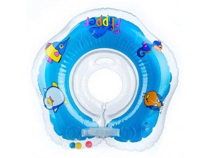 Flipper plavací nákrčník modrá 10500001