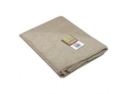 Eko bavlněná deka do kočárku s kapucí 90x90 cm PLE11
