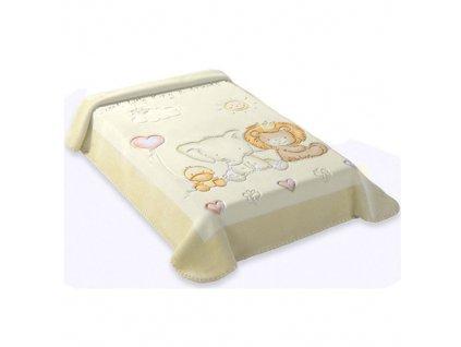 Baby Perla španělská deka 80x110 547 béžová