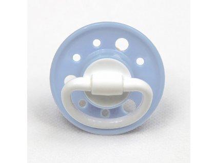 Baby Nova dudlík 0 m+ latex kulaté vel.1 blue