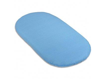 Babyrenka matrace Basket pro koše a kočárek 70x40 cm sky blue
