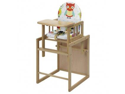 Geuther jídelní židlička Nico přírodní folie 31