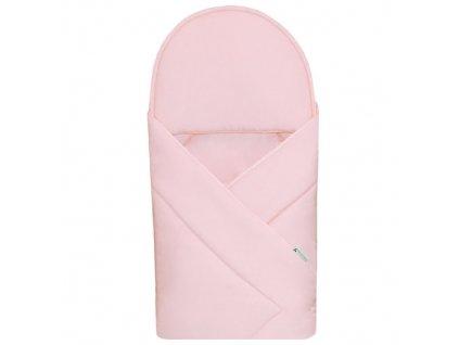 Babyrenka zavinovačka 90x90 Uni pink